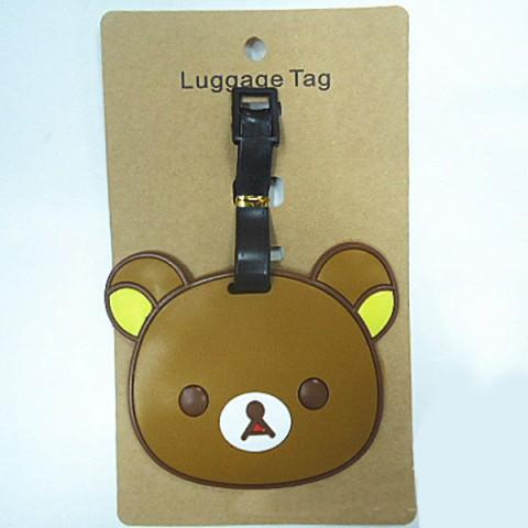Thẻ đeo hành lý Gấu Brown và Thỏ Cony