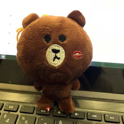 Gấu bông Brown mini 10cm