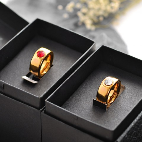 Cốc sứ nhẫn kim cương hẹn ước - Hộp quà sang trọng