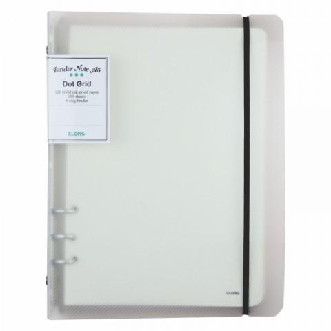 Sổ còng Dot Grid bìa nhựa A5 100 tờ KLong MS995
