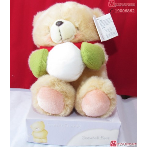 gau forever friend-snowball bear