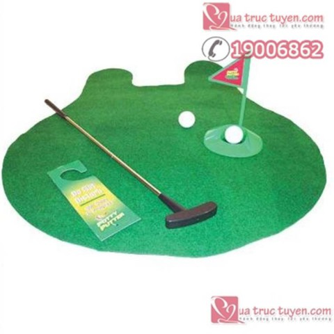 Trò Chơi Golf Trong Toilet