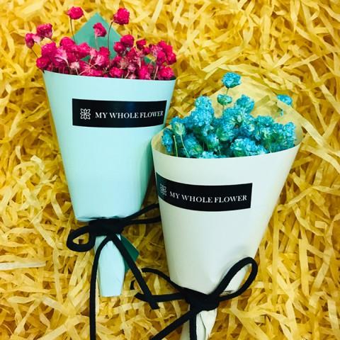 Bó hoa khô nhỏ LuvGift 11cm