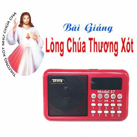 Bộ Đài 920 Bài Giảng Lòng Chúa Thương Xót Giáo điểm tin mừng nhà Bè cha Giuse Trần Đình Long