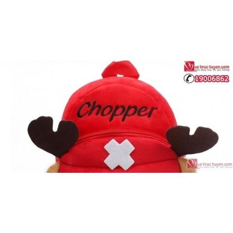Balo hình Tony Chopper - loại nhỏ ( bé 0-2 tuổi )