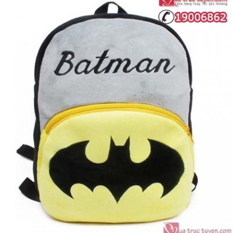Balo Người dơi Batman - loại lớn ( bé 3-5 tuổi )