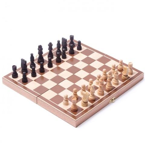 Bàn cờ vua gỗ size nhỏ 29cm