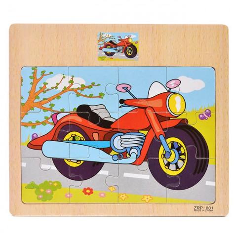 Bảng ghép hình bằng gỗ cho bé 12 miếng