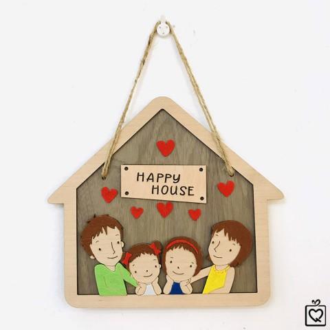 Biển treo cửa ngôi nhà hạnh phúc