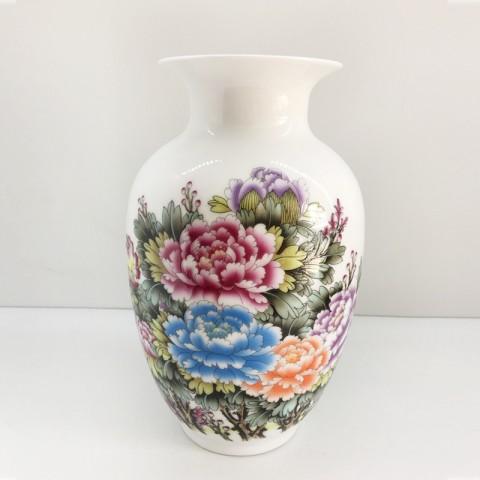 Bình hoa trang trí - Hoa khai phú quý