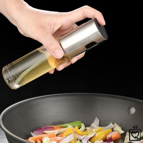 Bình xịt dầu ăn thủy tinh 100ml