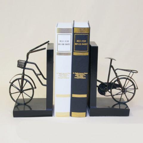 Bộ chặn sách hình xe đạp giả cổ