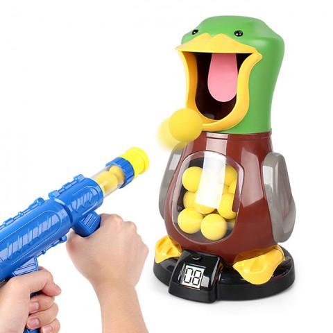 Bộ đồ chơi bắn bóng chú vịt Duck - 2 súng, 24 bóng cho bé