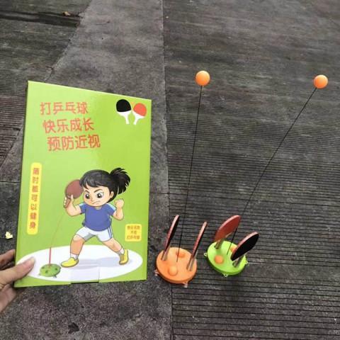 Bộ đồ chơi bóng bàn có dây đàn hổi giữ bóng