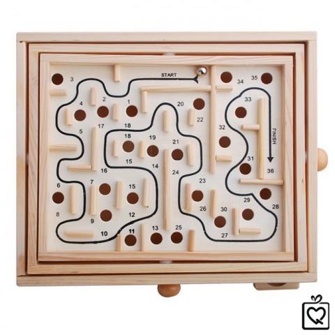 Đồ chơi gỗ lăn bi mê cung