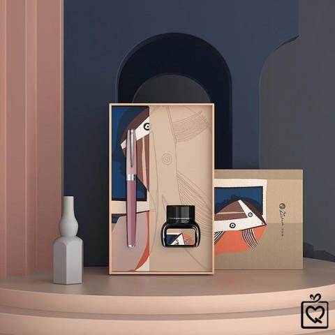 Bút Picasso nghệ thuật Morandi 717FP - Bộ quà kèm lọ mực