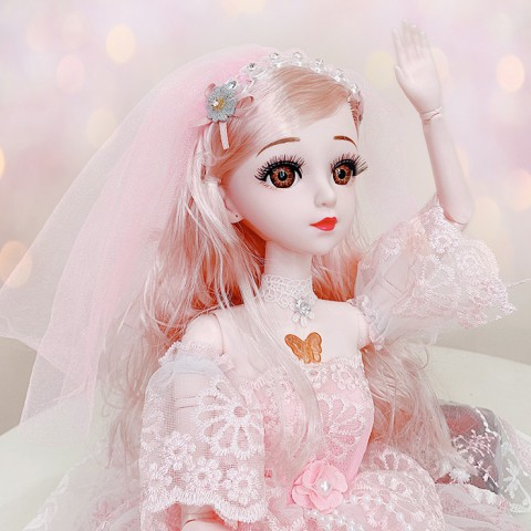 Búp bê công chúa Rosa biết hát khớp cử động 60cm
