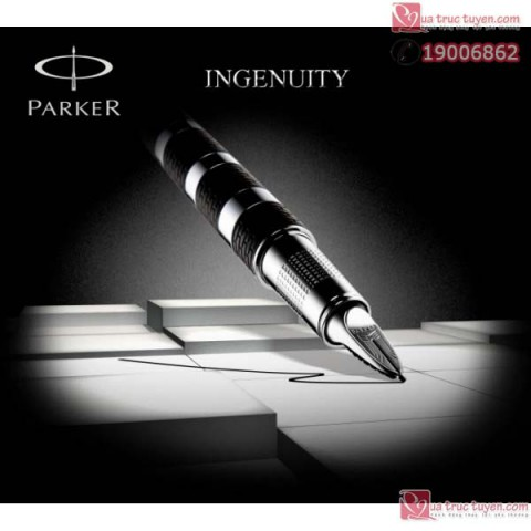 but-Parker-Ingenuity-Black-Rubber -Metal-cai-bac-3
