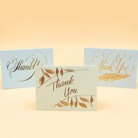 "Thiệp cảm ơn ""thank you"""