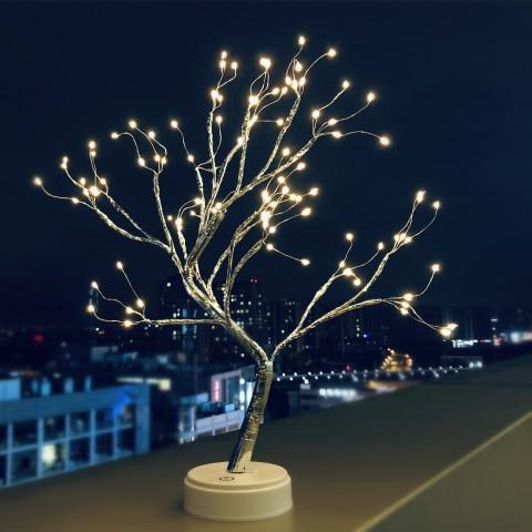 Cây đèn led bông tuyết trang trí - 108 bóng
