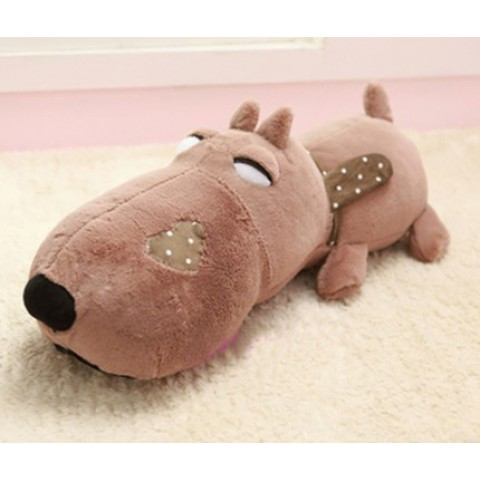 Chó bông Puco mặt ngu-nau-70cm