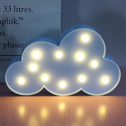 Đèn led trang trí hình đám mây