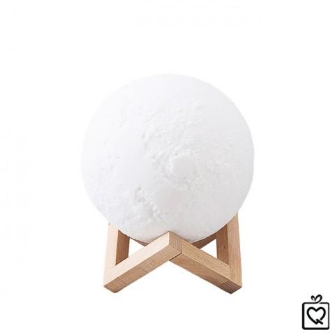 Đèn ngủ không dây mặt trăng 3D-pin sạc