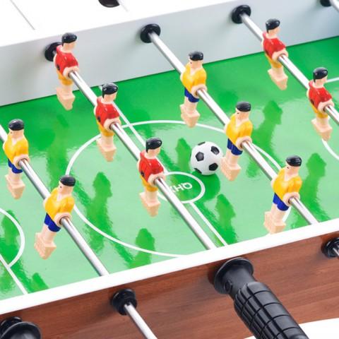 Đồ chơi bàn bi lắc 6 tay cầm bàn bóng đá Foosball 50cm