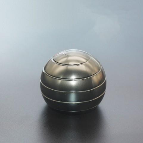 Đồ Chơi Con Quay Spinner Hình Tròn - Màu bạc