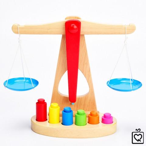 Đồ chơi gỗ cán cân thăng bằng