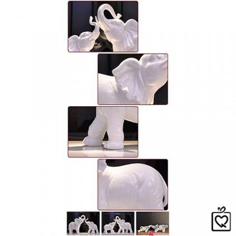Đôi voi phong thủy (loại lớn)