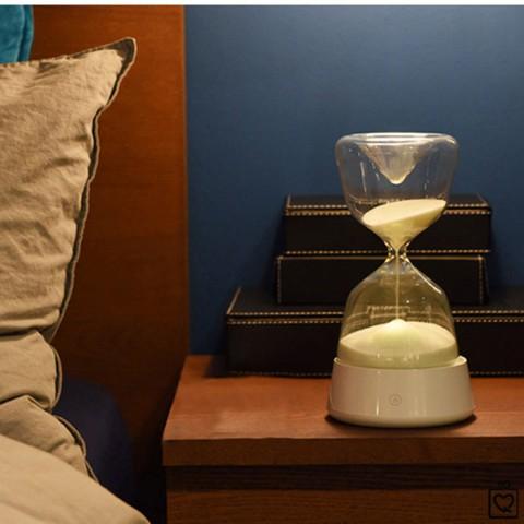 Đồng hồ cát đèn led độc đáo
