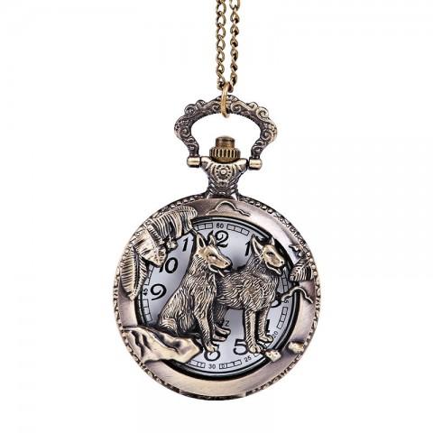 Đồng hồ quả quýt hình con chó