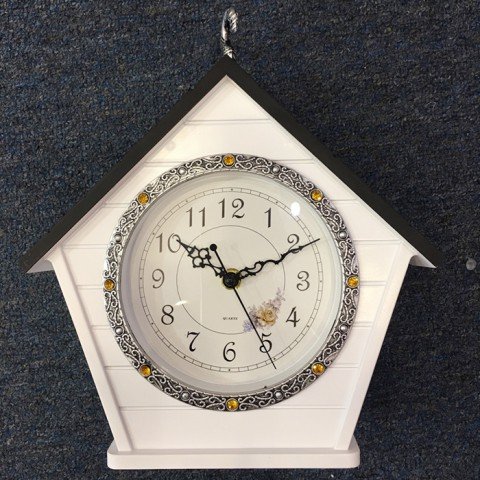 Đồng hồ treo tường hình ngôi nhà