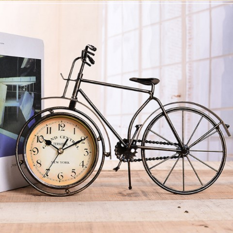 Đồng hồ để bàn xe đạp cổ vintage 1879