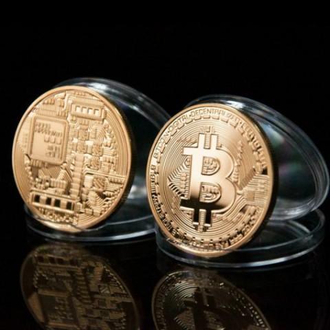 Đồng xu Bitcoin lưu niệm