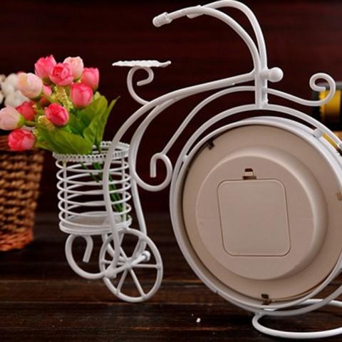 Đồng hồ để bàn xe đạp bánh cao cổ điển 1105