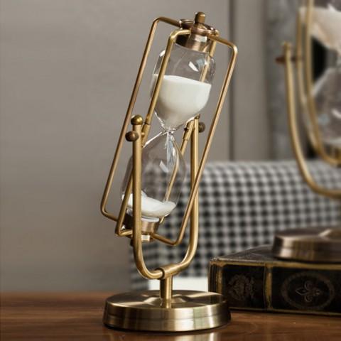 Đồng hồ cát vintage cổ điển 15 phút