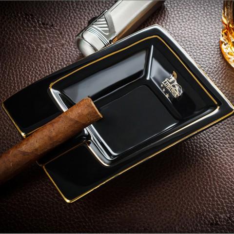 Gạt tàn xì gà gốm sứ Lubinski