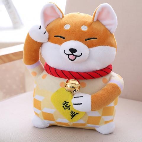 Gấu bông chó Shiba may mắn