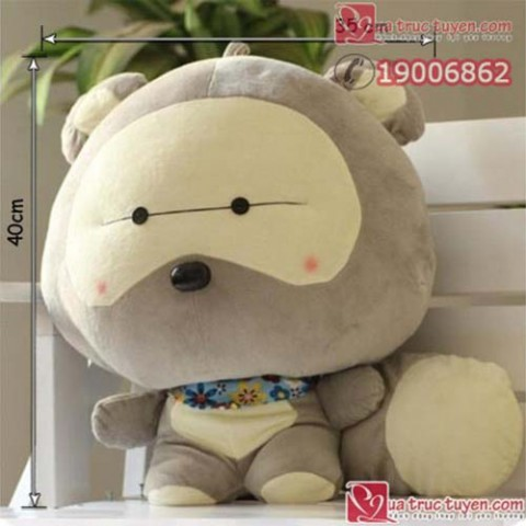 Gấu bông đầu to
