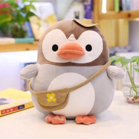 Chim cánh cụt nhồi bông dễ thương 28cm