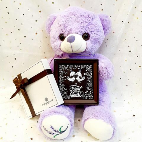 Quà tặng Gấu Teddy và Socola