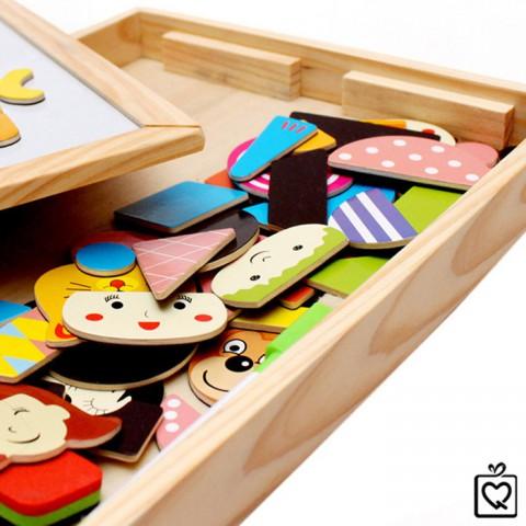 Đồ chơi gỗ ghép hình sáng tạo