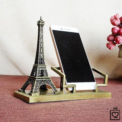 Giá đỡ điện thoại tháp eiffel kim loại