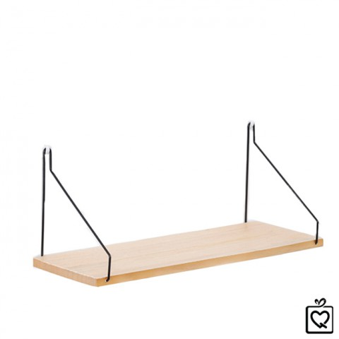 Giá gỗ dây treo tường trang trí Minimalism