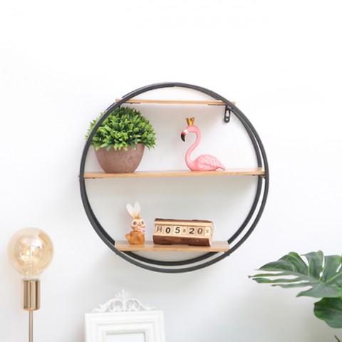Giá trang trí treo tường hình tròn