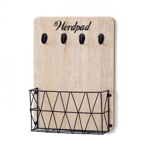 Giá gỗ đa năng treo tường Wordpad