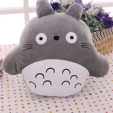 Gối ôm Totoro đút tay tròn