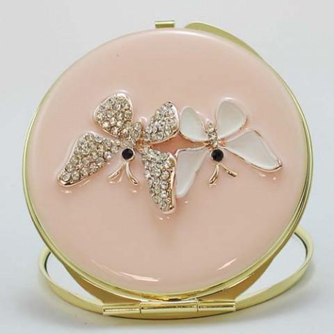 Gương trang điểm hình đôi bướm